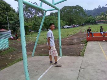 la concha soccer goalie net